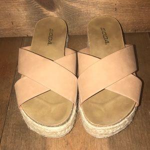 Soda Slide Sandals